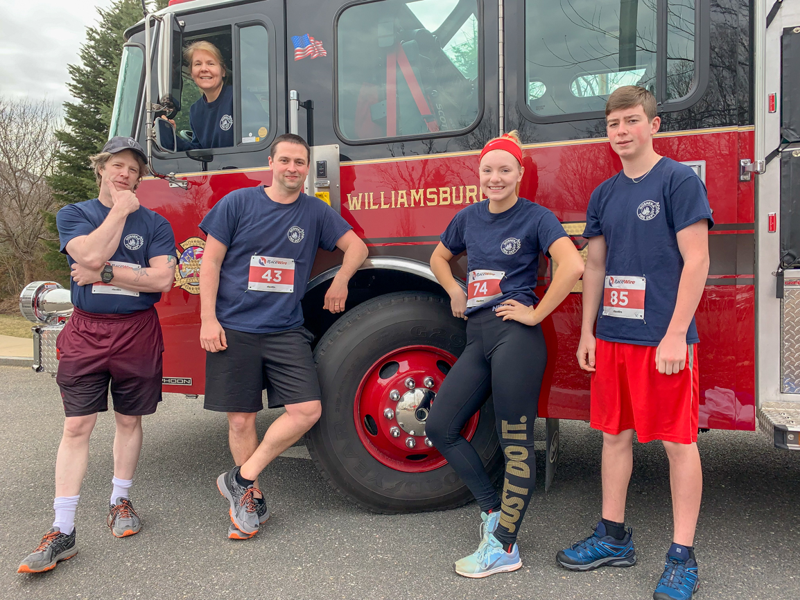 Burgy Fire and Police 5K